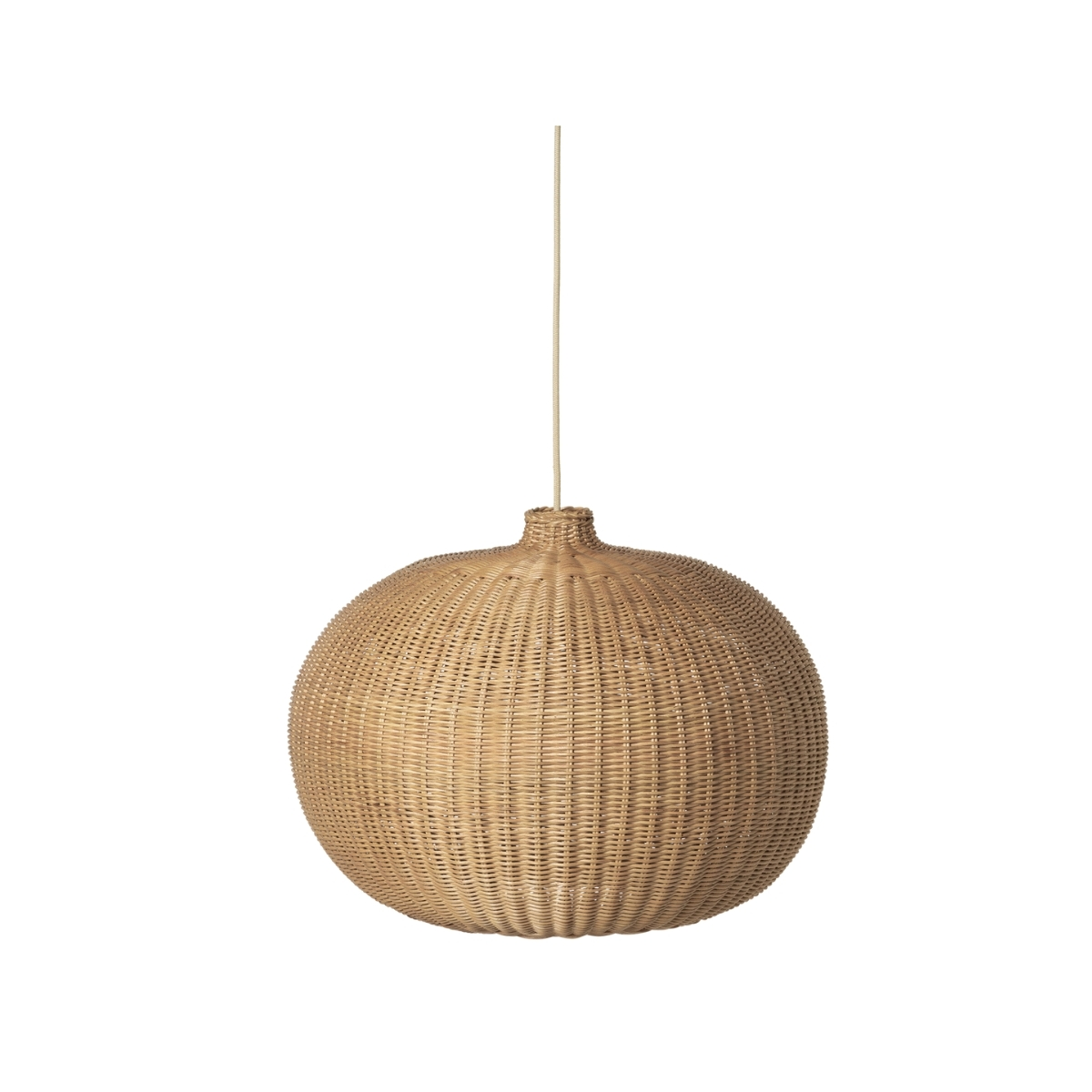 Ferm Living   Braided Belly Lamp Shade - Bolighuset Werenberg