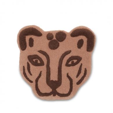 Ferm Living | Tufted Leopard Head - Bolighuset Werenberg