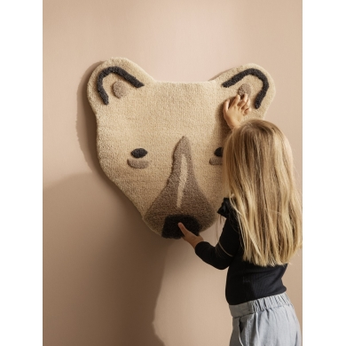 Ferm Living | Tufted Polar Bear Head - Bolighuset Werenberg