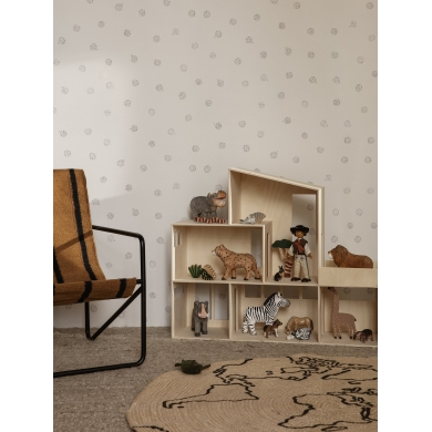 Ferm Living | Jute Carpet - World | Bolighuset Werenberg