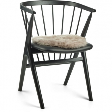 Nature Collection | Seat Cover, Long Wool Sheepskin, round