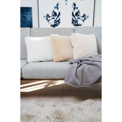 Natures Collection | Double Sided Cushion - Sheepskin - Bolighuset Werenberg