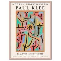 Poster & Frame | Paul Klee - Modern Kunstmuseum - Bolighuset Werenberg