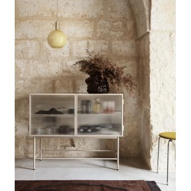 Ferm Living | Haze Sideboard - Reeded glas | Bolighuset Werenberg