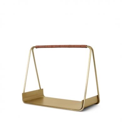 Ferm Living   Port Wood Basket - Bolighuset Werenberg