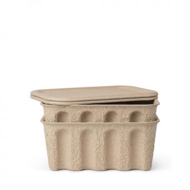Ferm Living | Paper Pulp Box - Set of 2