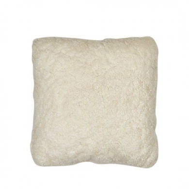 Natures Collection | Double Sided Cushion - Short wool