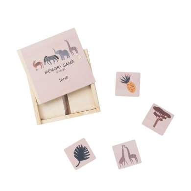 Ferm Living | Safari Memory Game - Bolighuset Werenberg