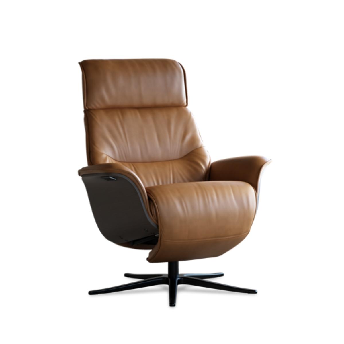 IMG Comfort   Space 5300 - Lænestol m. indbygget skammel - Werenberg