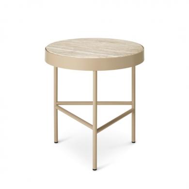 Ferm Living | Travertine Table - Medium | Bolighuset Werenberg