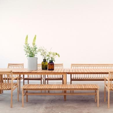 FDB Møbler | M14 Sammen Hynde til M10 Havebænk | Bolighuset Werenberg