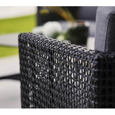 Cane-line   Connect 3 pers. sofa - Black   Bolighuset Werenberg