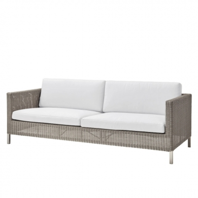 Cane-line   Connect 3 pers. sofa - Taupe