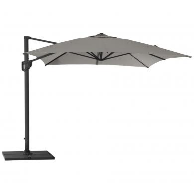 Cane-line   Hyde Luxe Tilt 3x4 parasol inkl. fod - Antrazit   Bolighuset Werenberg