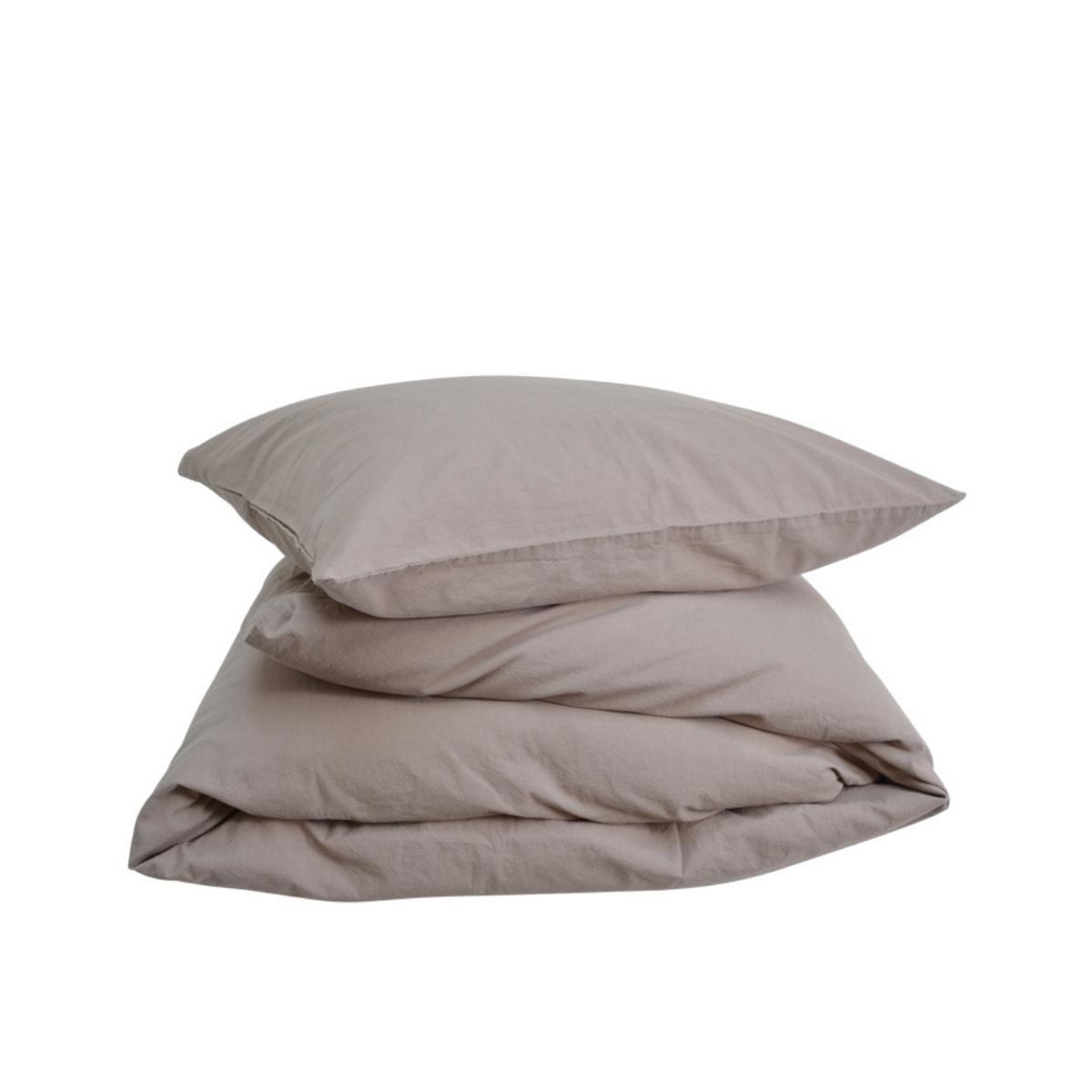 Compliments   Stone Bed Linen - Sand   Bolighuset Werenberg