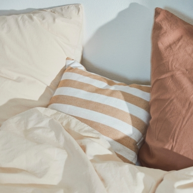 Compliments | Stone Bed Linen - Champagne | Bolighuset Werenberg