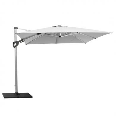 Cane-line   Hyde Luxe Tilt parasol, 3x3 m - Silver