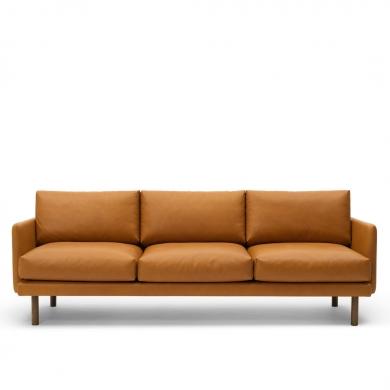 Bruunmunch | EMO 3 pers. sofa - Cognac | Bolighuset Werenberg