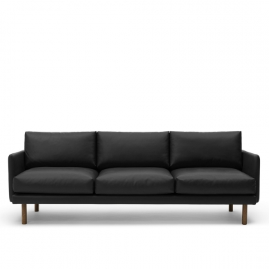 Bruunmunch | EMO 3 pers. sofa - Sort | Bolighuset Werenberg