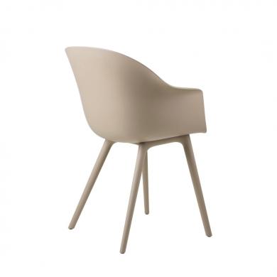 GUBI | Bat Dining Chair - Plastic Base, Outdoor | Bolighuset Werenberg