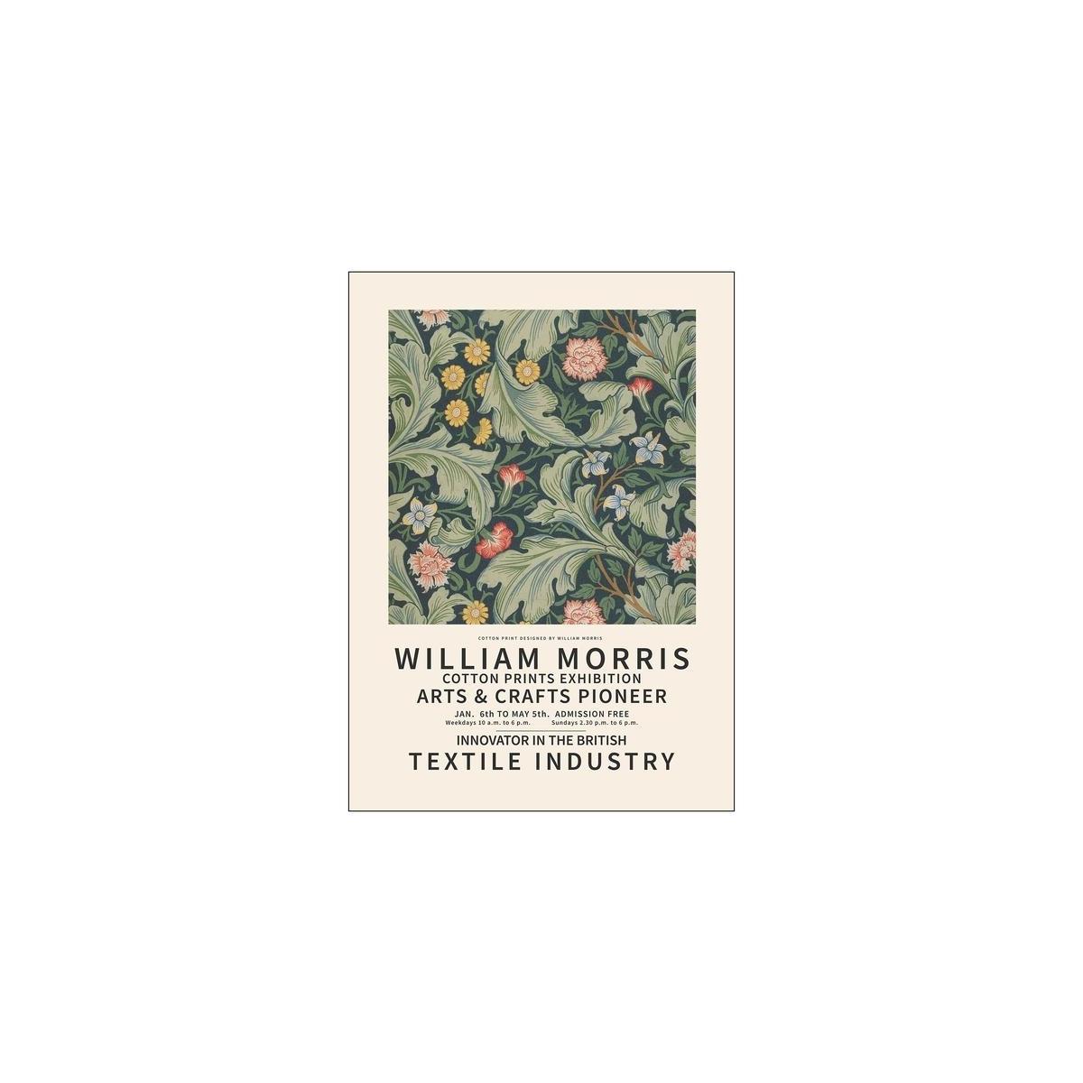 Poster & Frame   William Morris 1 - Bolighuset Werenberg