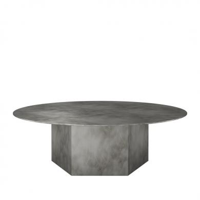 GUBI   Epic Coffee Table - Steel, 110 cm   Bolighuset Werenberg