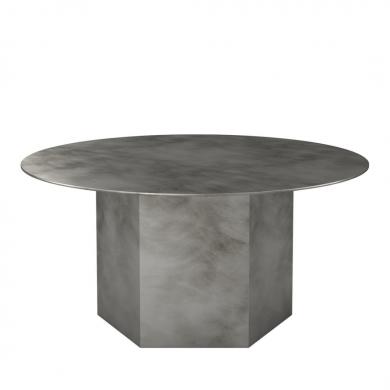 GUBI   Epic Coffee Table - Steel, 80 cm   Bolighuset Werenberg