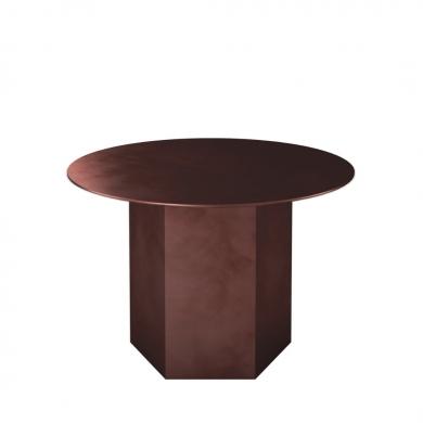 GUBI   Epic Coffee Table - Steel, 60 cm   Bolighuset Werenberg