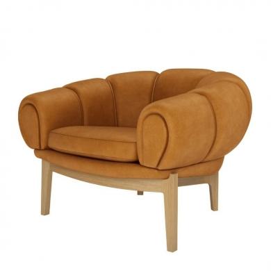 GUBI | Croissant Lounge Chair - Bolighuset Werenberg