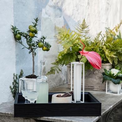 By Lassen | Kubus Vase - Flora - Bolighuset Werenberg