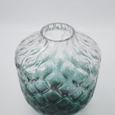 House Doctor | Vase Art Deco - Grøn - Bolighuset Werenberg