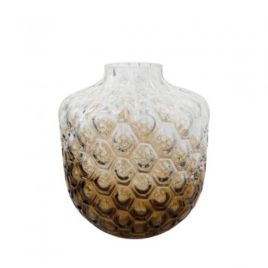 House Doctor | Vase Art Deco - Brun - Bolighuset Werenberg