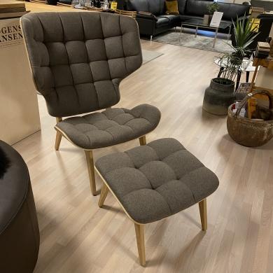 NORR11   Mammoth Chair inkl. skammel - Bolighuset Werenberg