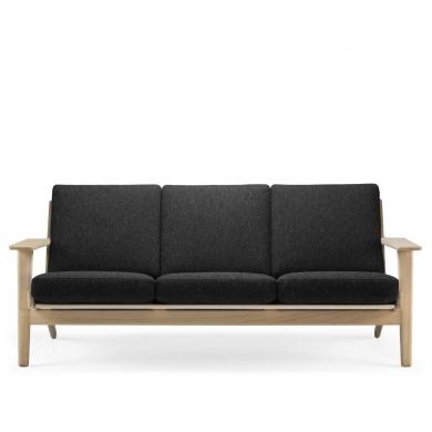 Getama   Wegner GE290 3-pers. sofa - Bolighuset Werenberg