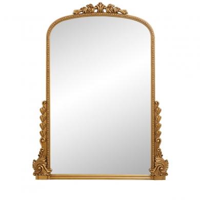 Nordal   Bird Mirror - Gold - Bolighuset Werenberg