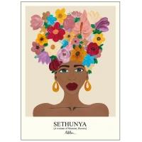 Poster & Frame | Sethunya Warm - Bolighuset Werenberg