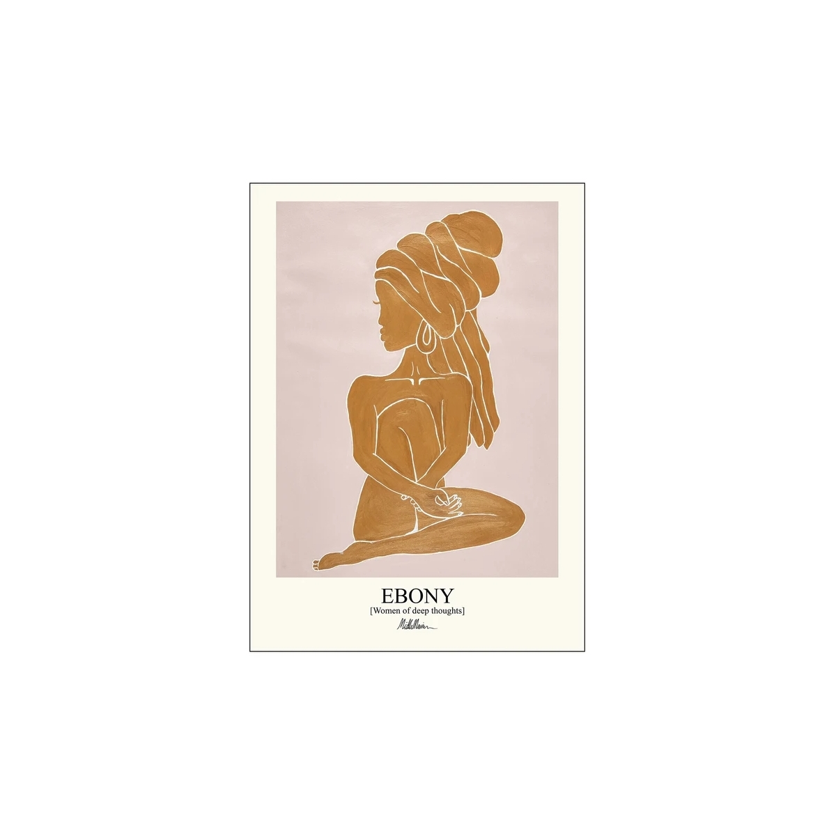 Poster & Frame | Ebony - Bolighuset Werenberg