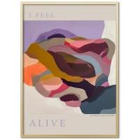 Poster & Frame | I Feel Alive - Bolighuset Werenberg