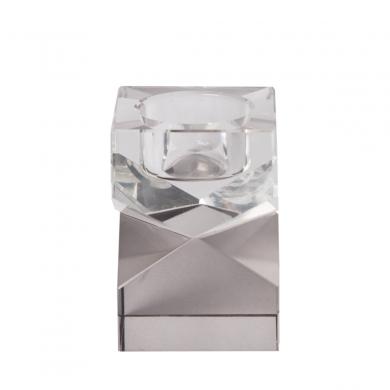 C'est Bon | Krystalstage, klar/røget grå- 8,5x6x6 cm - Bolighuset Werenberg