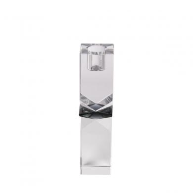 C'est Bon | Krystalstage - klar/røget grå/klar - 16x4 cm - Bolighuset Werenberg
