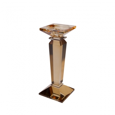 C'est Bon | Krystalstage, lysebrun/klar - 25 cm - Bolighuset Werenberg
