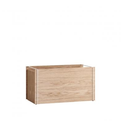 Moebe | Storage Box - Oak/White