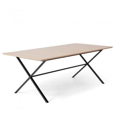 Hammel | Meza Rounded spisebord - 210 x 100 cm - Bolighuset Werenberg