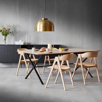 Hammel | Meza Rounded spisebord - 165 x 90 cm - Bolighuset Werenberg
