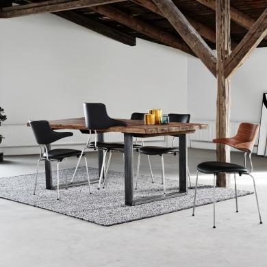 VERMUND   VL118 spisebordsstol - polster - Bolighuset Werenberg