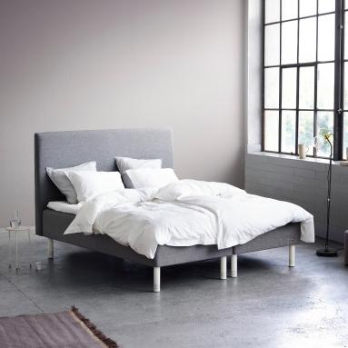 Carpe Diem Beds   Boxmadras dobbeltseng - Koster - Carpe Diem Beds   Sengeben - Oak Cylinder (13 cm)
