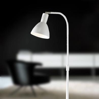 Ellight  Angora gulvlampe i hvid