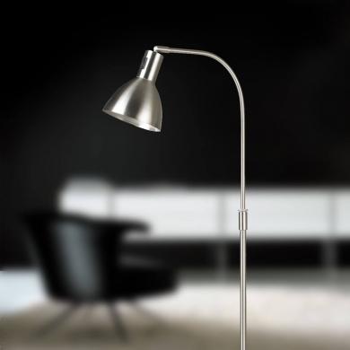 Ellight  Angora gulvlampe i børstet stål