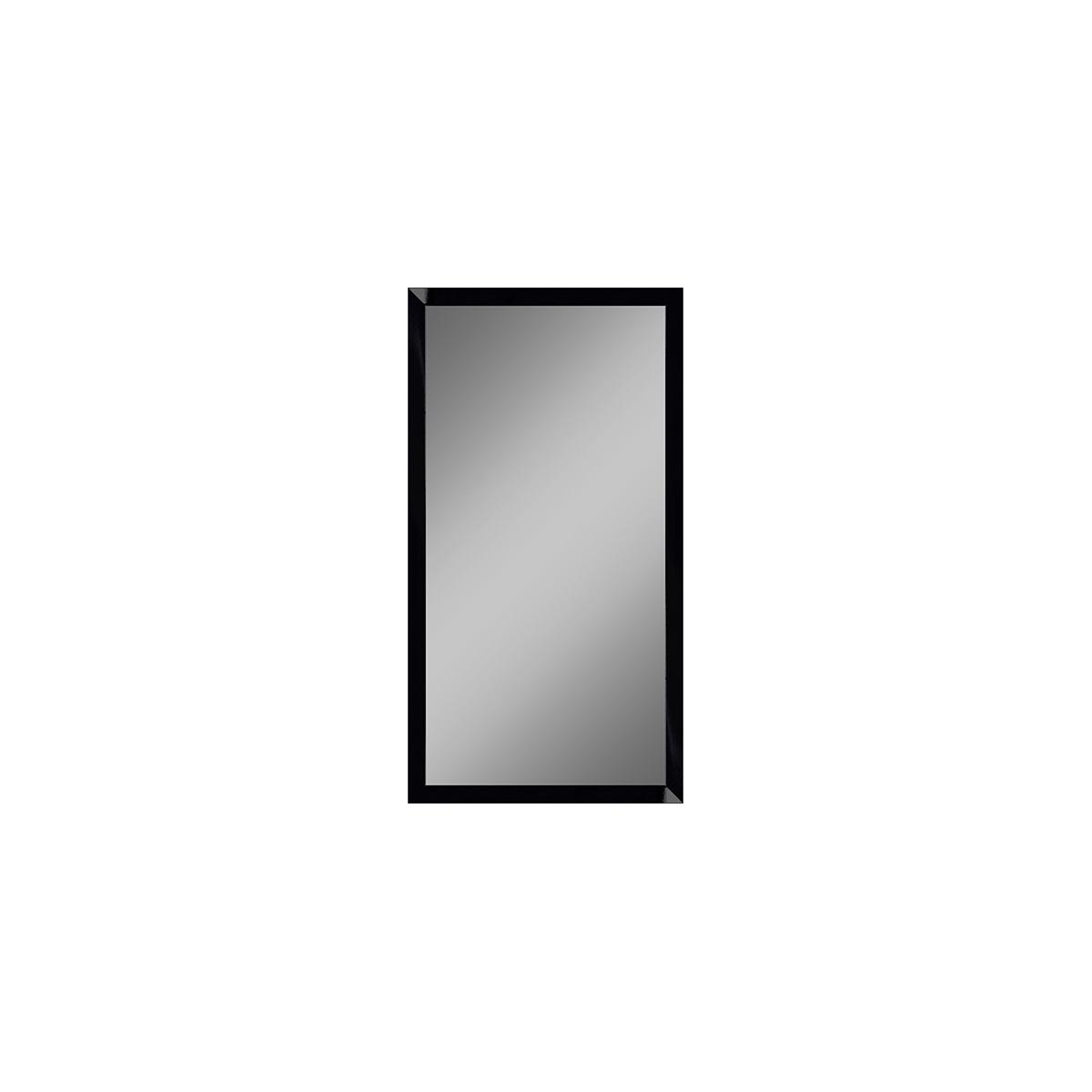 Incado Spejl - Sort lak