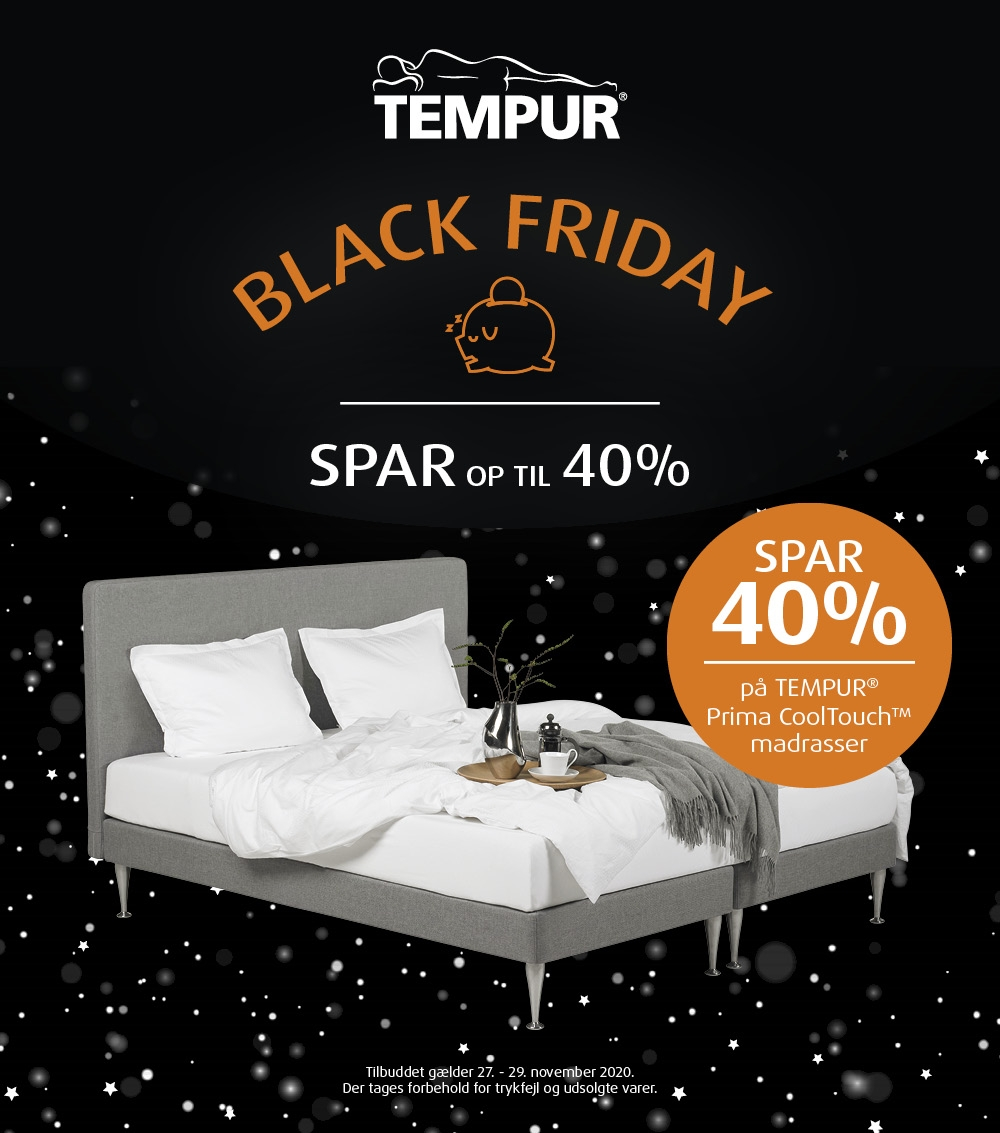 BLACK FRIDAY - TEMPUR